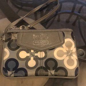 Coach wristlet purse